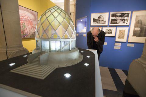 Bruno Taut, Glashaus (1914) (maquette, 1992–1993). Werkbundarchiv, Museum der Dinge, Berlijn