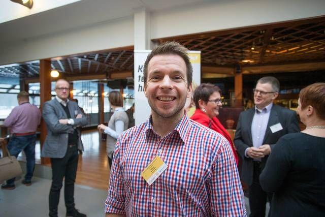Vincitin perustaja Mikko Kuitunen puhui tiistaina Savon ammatti- ja aikuisopiston järjestämässä seminaarissa Kuopiossa.