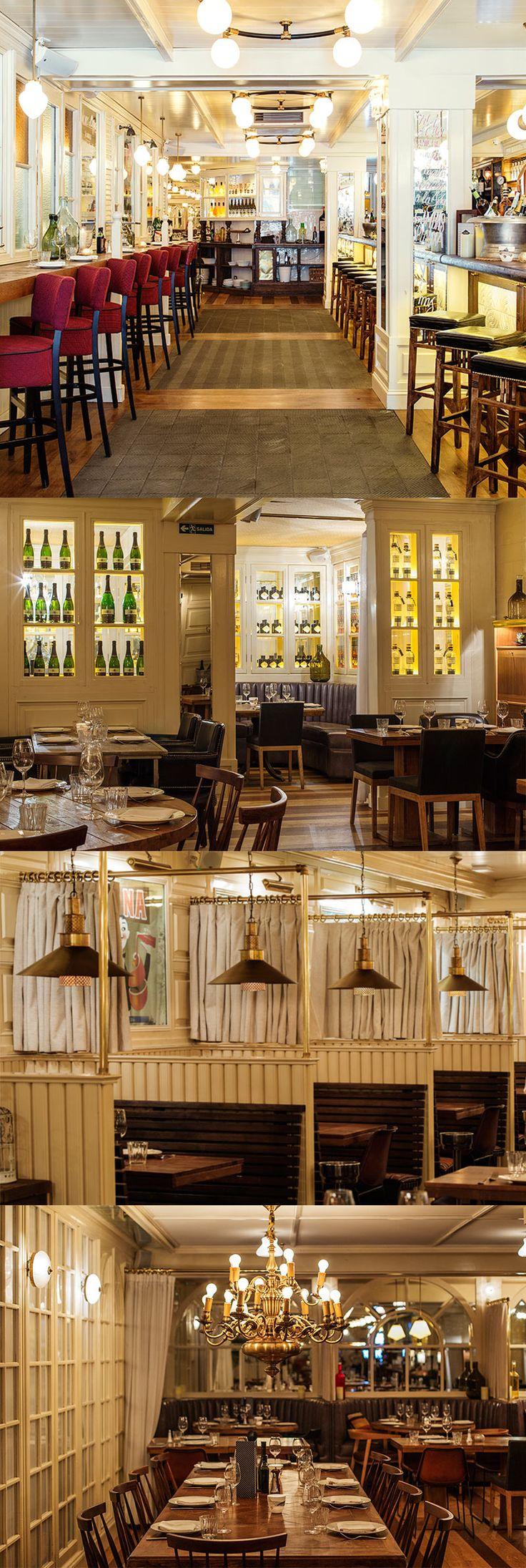 die besten 25 restaurant und bar design ideen auf pinterest restaurant bar restaurant design. Black Bedroom Furniture Sets. Home Design Ideas