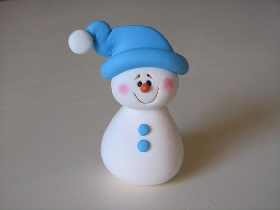 1960 best snowmen images on pinterest snowman christmas for Simple clay designs