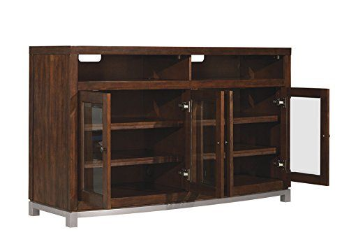 """Bell'O TC60-6449-C247 Wesleyan TV Stand for TVs up to 65"""", Meridian Cherry"""
