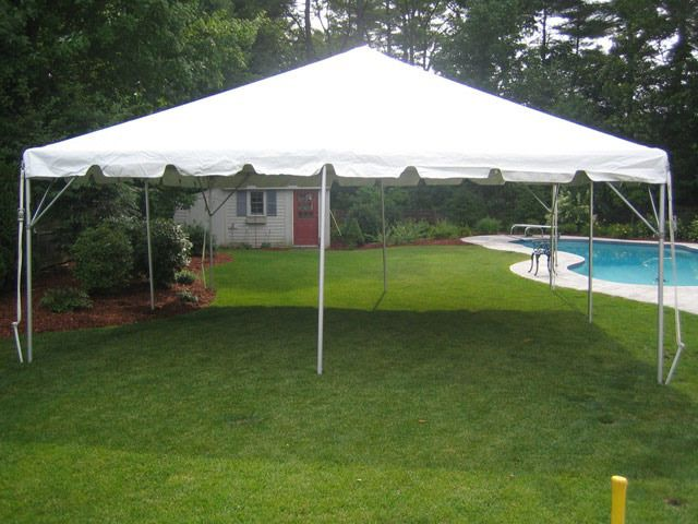 20ft X 20ft Tent Tent Rentals Backyard Design Tent