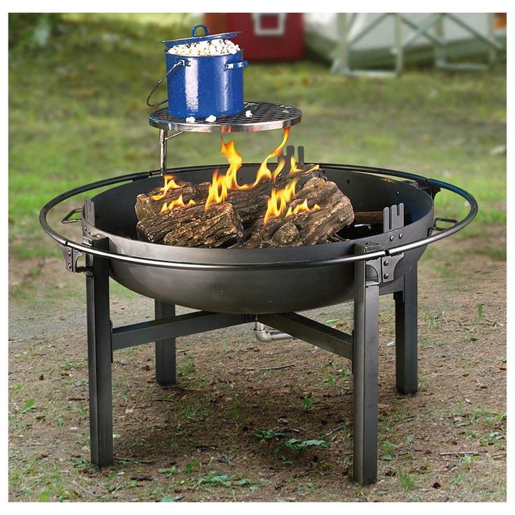 48 best Cowboy Fire Pit Grill images on Pinterest   Bar ...