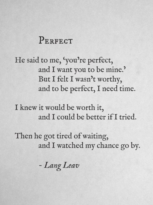 chasing the sun: More Lang Leav Poems