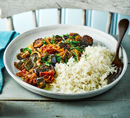 Slightly sweet with added richness from the coconut milk, this simple vegan curry is a winner. It's also freezable if you need a quick midweek fix
