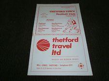 Thetford Town v Kings Lynn 1973/74
