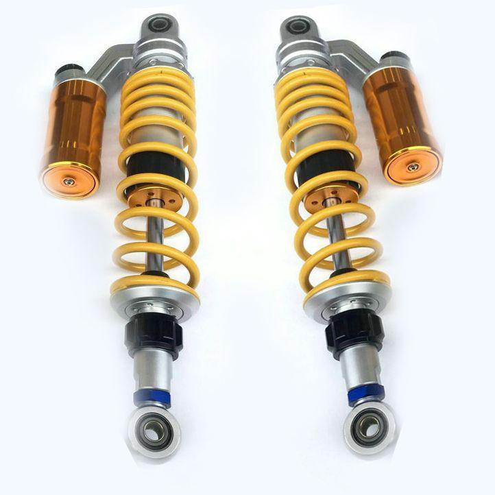 13.5 340mm  335mmUniversal Shock Absorbers for Honda/Yamaha/Suzuki/Kawasaki/Dirt bikes/ Gokart/ATV/Motorcycles and Quad.