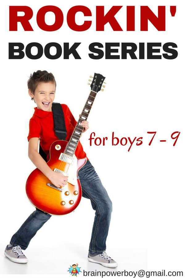 Need books for your 7 - 9 year old boys that totally rock? We found 9 book series for boys that will get them turning pages so fast you won't believe your eyes.