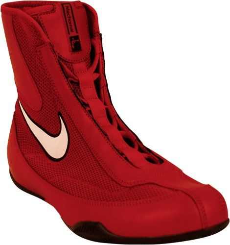 Now how cool are these? I see red Stuffitts inserts as a perfect fit! Amazon.com: Nike Machomai Boxing Shoes - Mid: Shoes