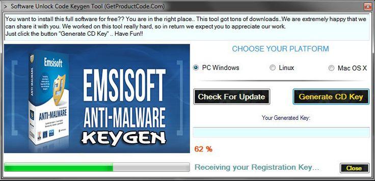 Emsisoft Anti-Malware 10 Keygen 2015