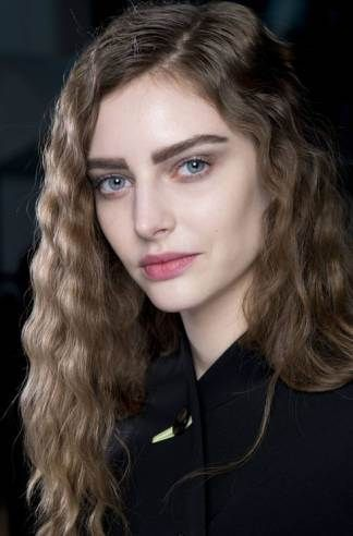 Strong brows at Giorgio Armani
