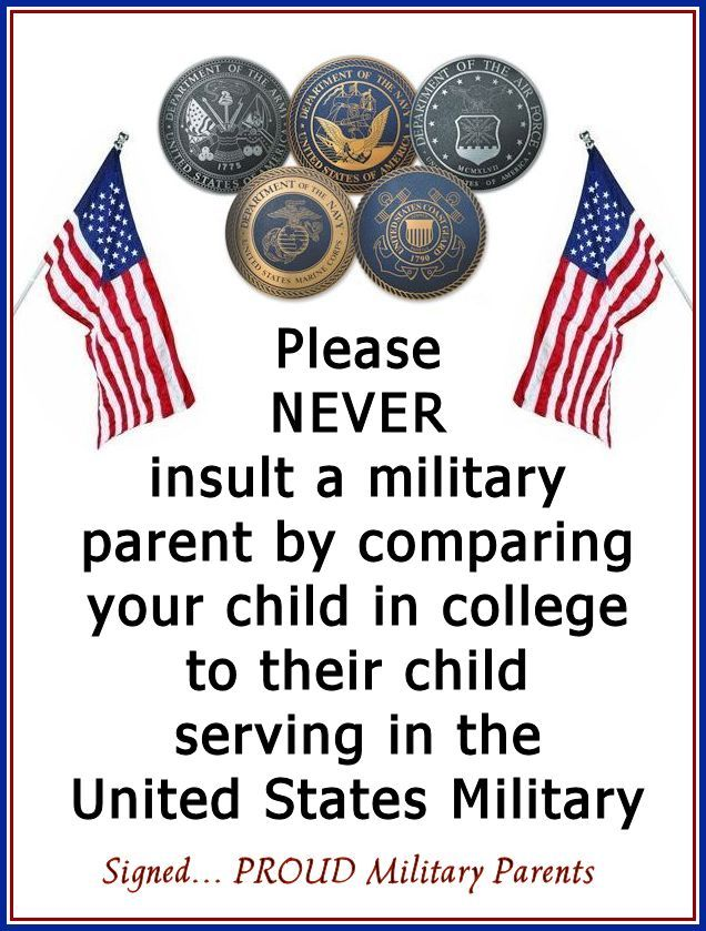 Don't Compare Kids. Period. - http://art4mil.com