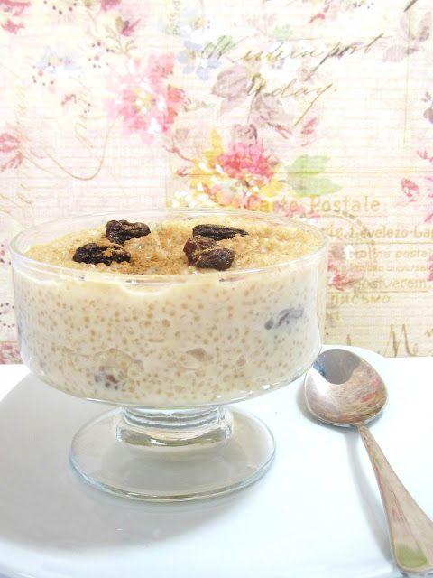 Some modifications but this should be good! Quinoa con leche (arroz con leche)