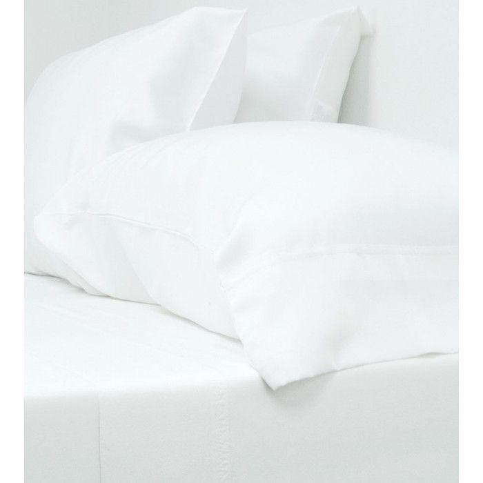 $200 King sheets  Classic Bamboo Bed Sheet Set - White - Classic Sheets - Sheets - Bedding - Bed & Bath