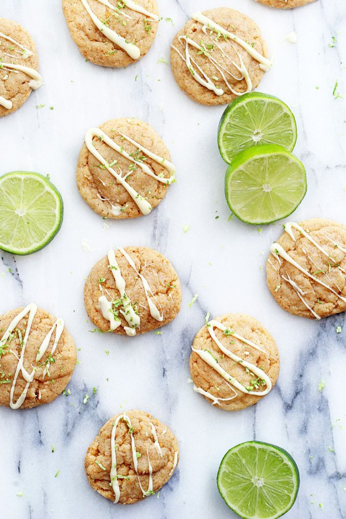 The BEST Key Lime Pie Cookies EVER! They taste just like Key Lime Pie but in Cookie Form