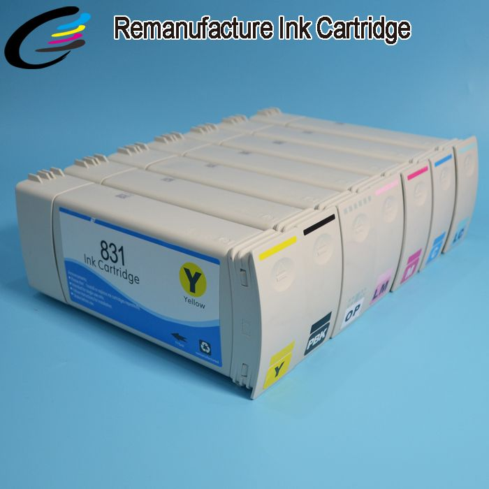 Remanufactured Latex 360 Printer Ink Cartridge for HP831