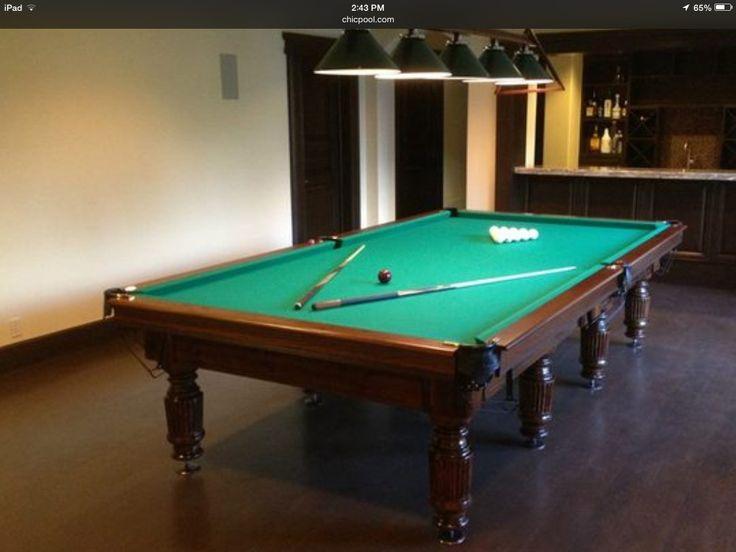 Modern Convertible Pool Table