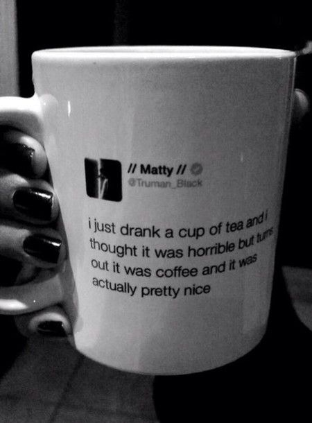 the 1975 mug. i love this band. and matty just really gets me. || @cloudyydaze