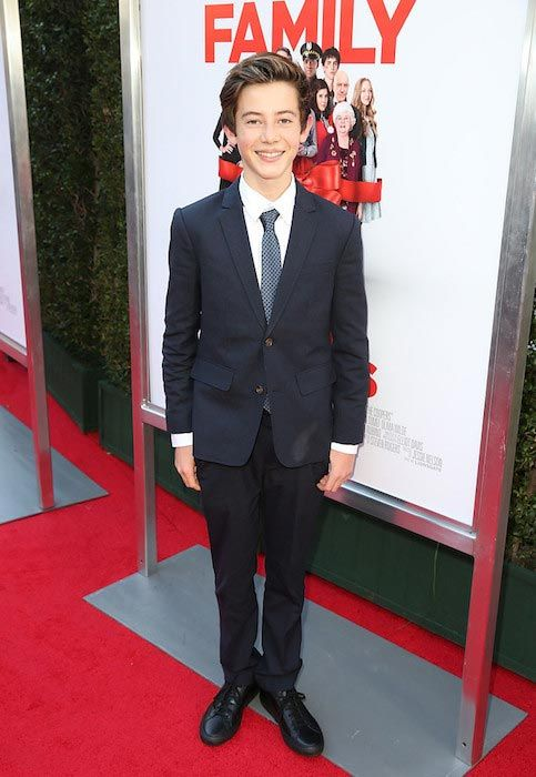 "Griffin Gluck during ""Love The Coopers"" Holiday Luncheon Benefiting the LA Regional Food Bank..."