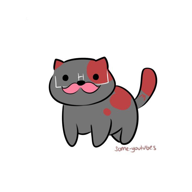 markimeow by some-youtubes | Neko Atsume cats | Markiplier