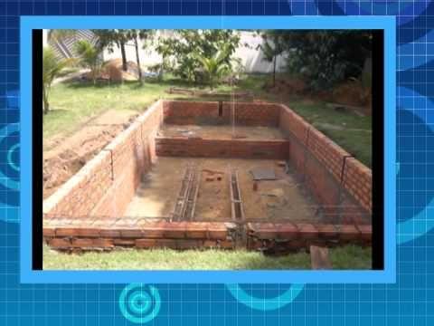 Como construir uma pequenina ch cara sustent vel e barata for Como hacer una piscina de concreto