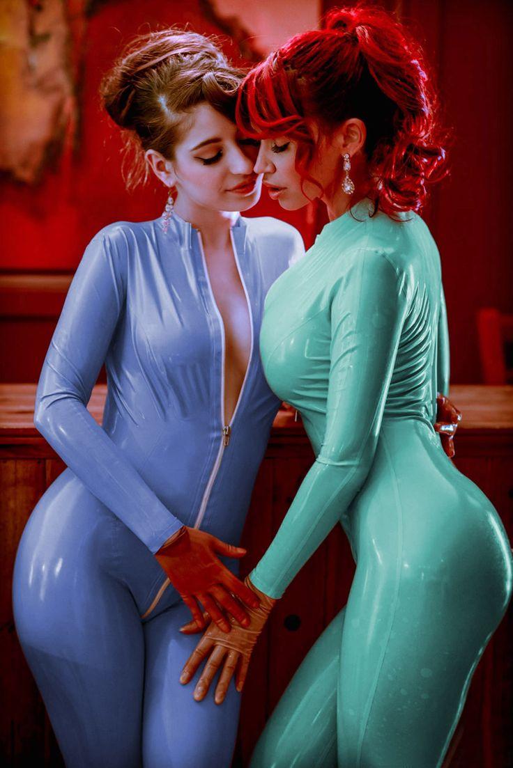 in latex Lesbian