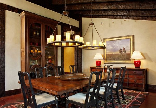 20 Unique Western Dining Rooms
