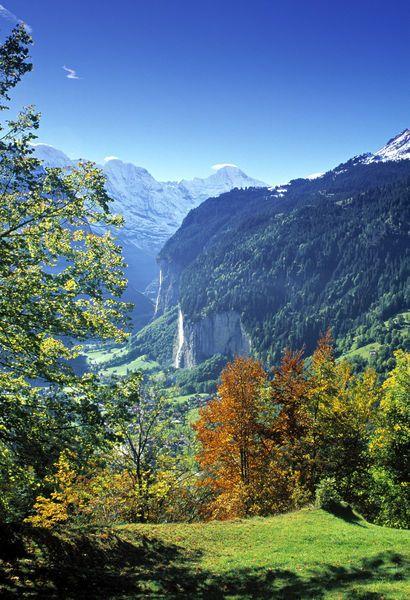 Berner Oberland, Switzerland Copyright: Jon Arnold Images/Peter Adams