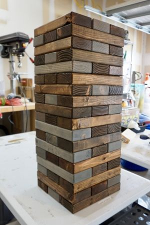 The 25 best jenga diy ideas on pinterest giant jenga diy party giant jenga diy project weekend jumbo do it yourself quick weekend how to instructions backyard back solutioingenieria Gallery