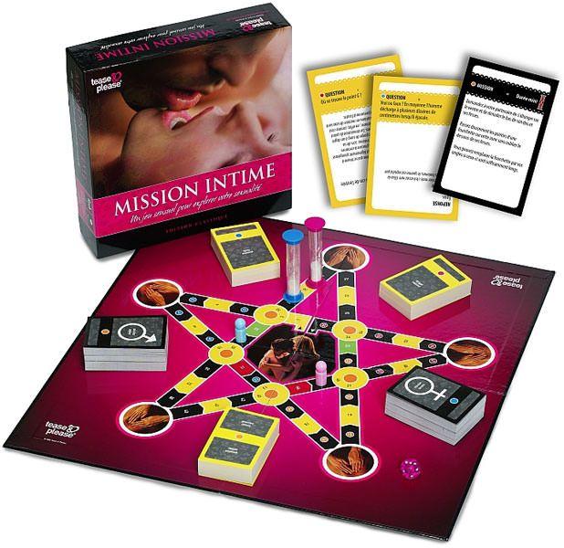 Jeu Mission Intime  Marque : Tease & Please  Avez-vous déjà osé relever le défi ?  Mission Intime' vous fait faire un voyage de découverte a...