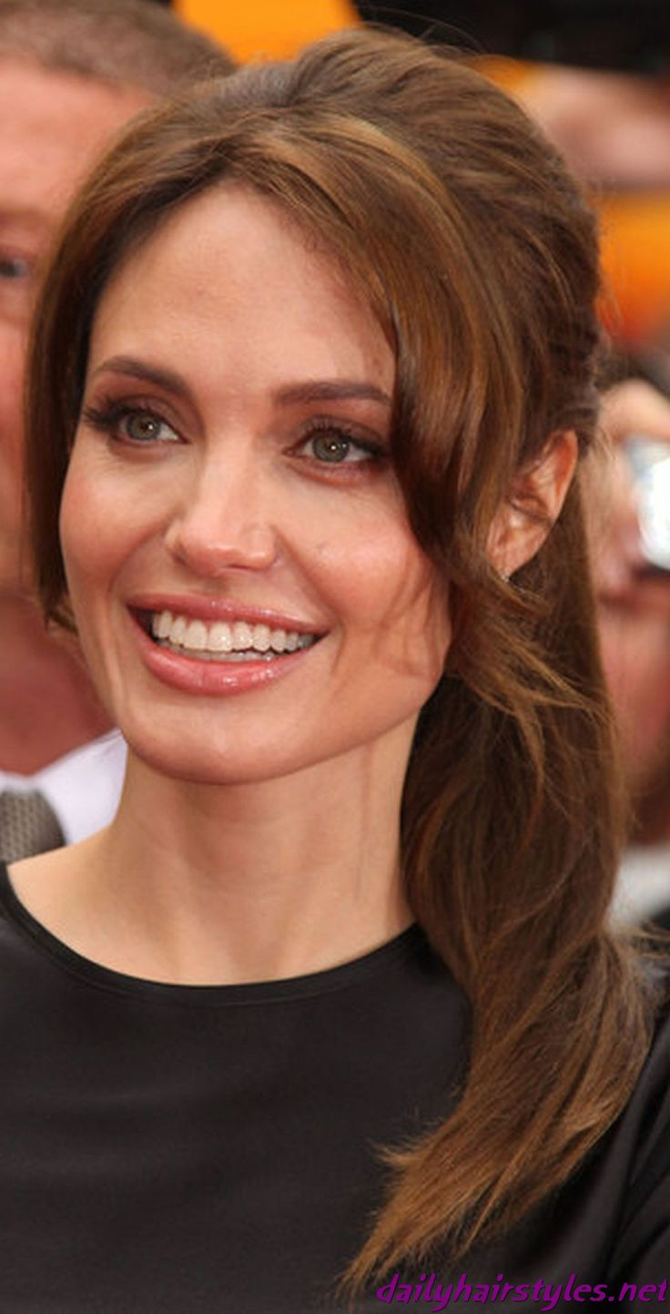 angelina jolie hairstyles | hairstyles-angelina-jolie-ponytail-hairstyle-daily-new-Angelina-Jolie ...