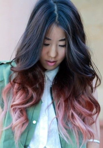 I'm gonna do this but with brighter pink and purple so excited!!!!!!