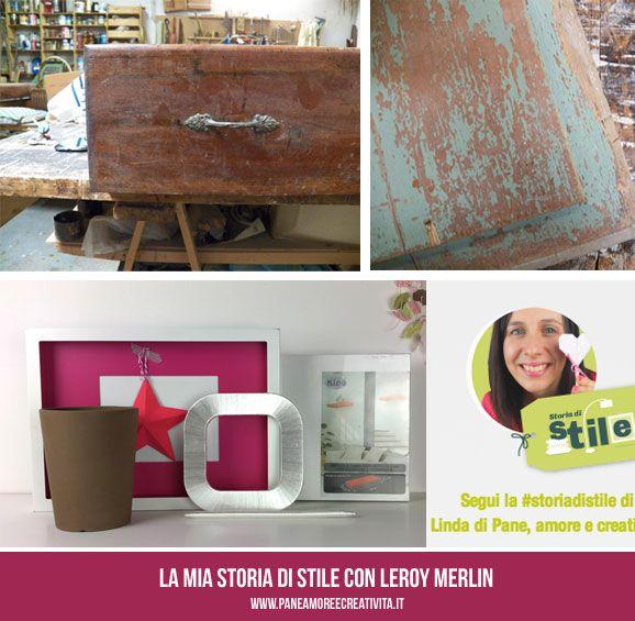 Acquisti e ritrovamenti per l'angolo di stile #ilmomentodifare #storiadistile #leroymerlin