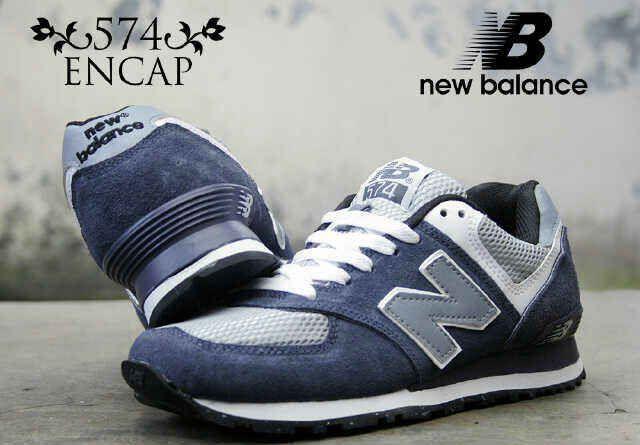 NEW BALANCE 574 ENCAP (Code:2CL123;@240.000) Sepatu Pria Made in Vietnam Size 40 – 44  Membuat AGAN tampak semakin cekatan, fashionable dan berkelas. SMS: 08531 784 7777 PIN: 331E1C6F Website: www.butikfashionmurah.com