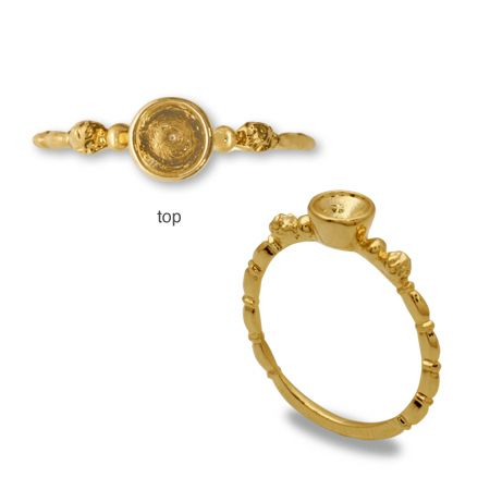 terra日本进口 宝石座戒指 3.8-4mm 进口diy首饰材料配件-淘宝网