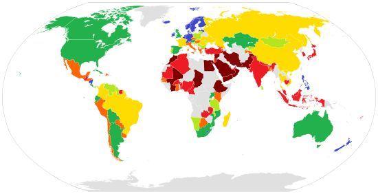 """""""The Global Gender Gap Report was first published in 2006 by the World Economic Forum."""""""