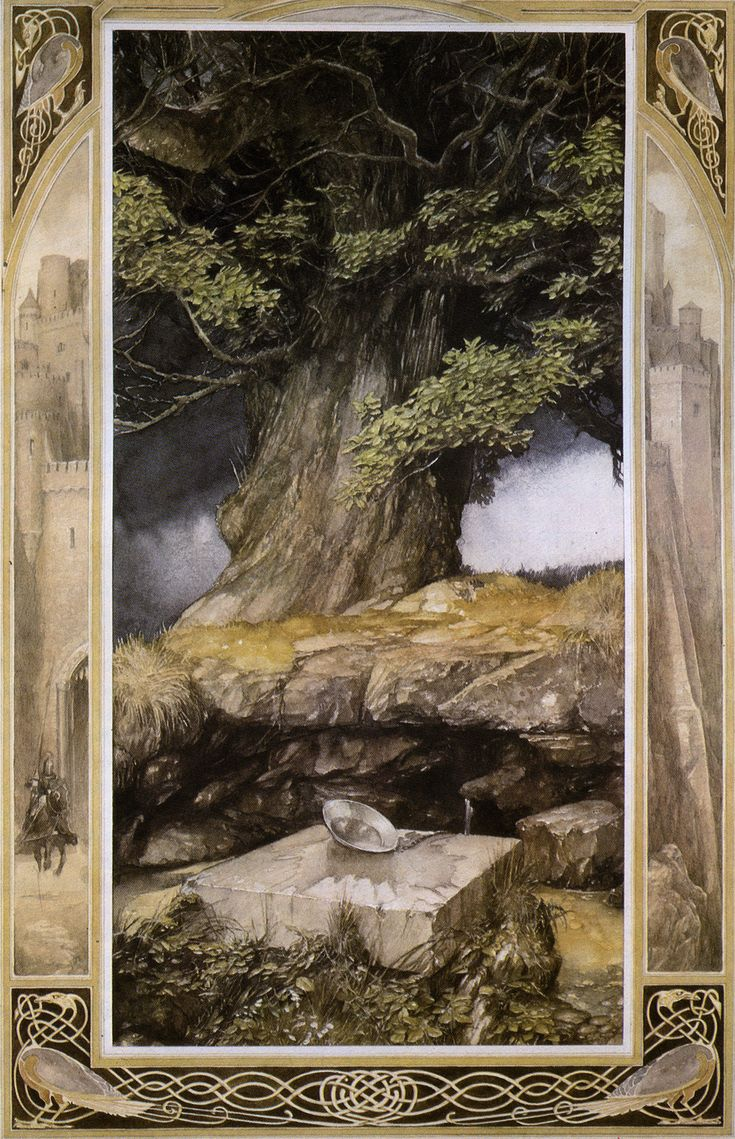 **Alan Lee  from The Lady of the Fountain  ('The Mabinogion')