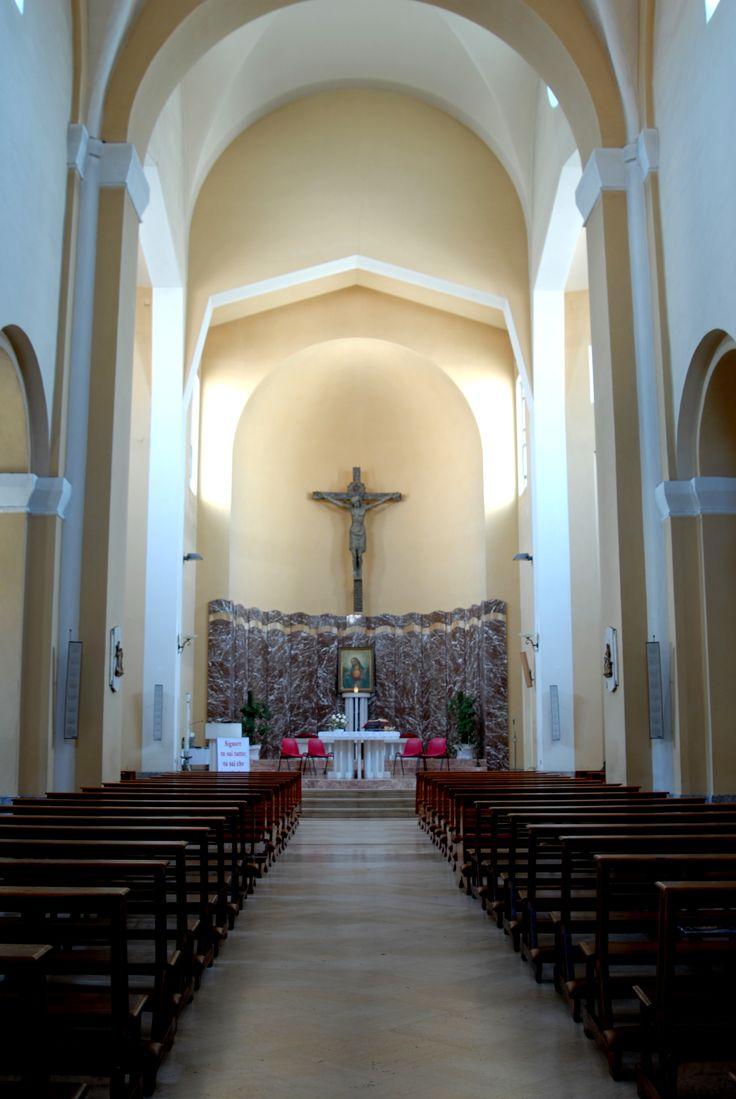 Chiesa parrocchiale di S Maria e S Giorgio interno #marcafermana #montappone #fermo #marche