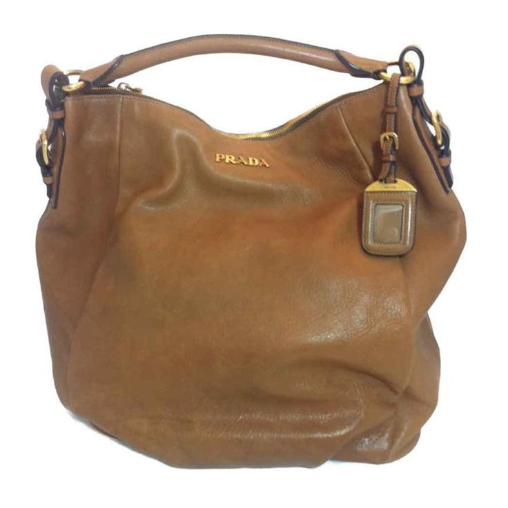 From MTYCI - Prada Tall Unstructured Shoulder Bag