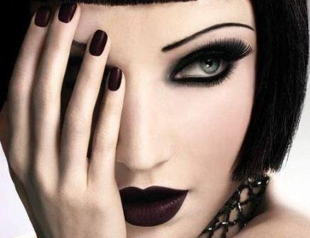 Gothic Şık Makyaj