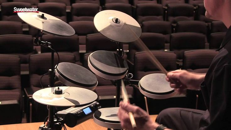 Roland TD-4KP Portable V-Drums Demo - Sweetwater Sound - YouTube