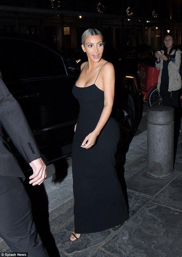 Still 'obsessed'! Kim Kardashian indulges in her favorite sugary beignets on Thursday nigh...