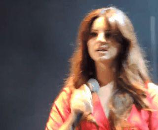 Lana Del Rey in Chula Vista #LDR #GIF