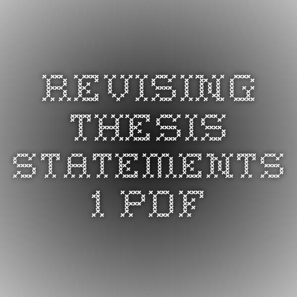 thesis paper pdf
