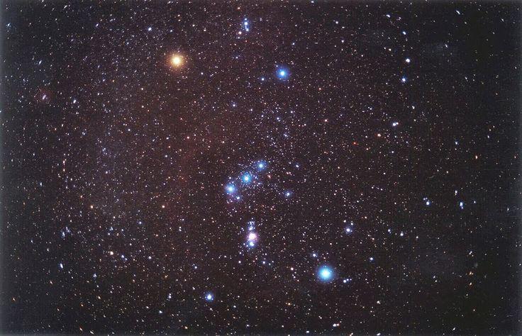 Астрономия для детей: Посмотрите в бинокль на Туманность Ориона