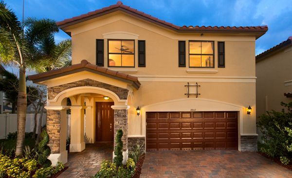 The Wellington Model Home At Aragon In Hialeah Aragon In