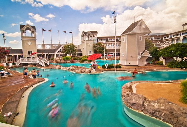Stormalong Bay is basically a small water park, and we think it's the best hotel pool at Walt Disney World. http://www.disneytouristblog.com/disneys-beach-club-resort-review/