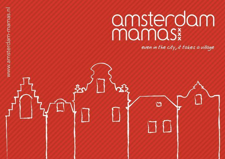 The Amsterdam Mamas - AM Postcard (Front)