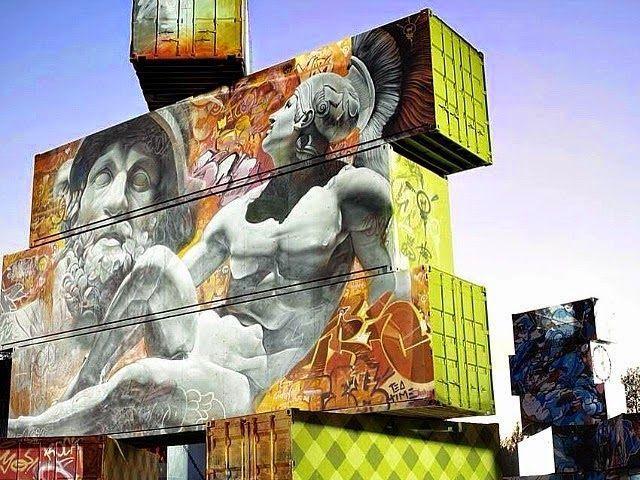 Μυθολογικά πρόσωπα και μοτίβα: Η τέχνη του δρόμου και οι Έλληνες Θεοί. Street Art and Greek Gods