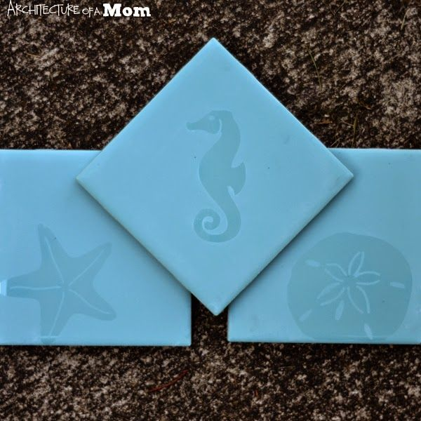 Silhouette School: How to Etch Tiles to Make Custom Coasters (Silhouette Tutorial)